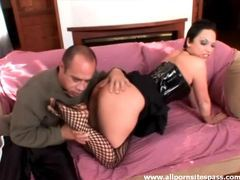 Dominant babe in latex corset eaten out videos