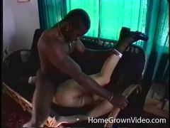 Black cock drills curly haired white chick movies at freekiloporn.com