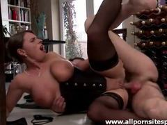 Big breasted milf in corset takes cock in ass videos
