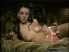 Penny flame is stunningly erotic in stockings movies at kilopills.com