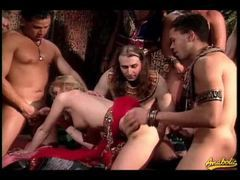 Gangbang with an ancient theme videos