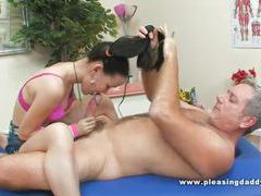 Mature guy gets a massage with happy ending videos