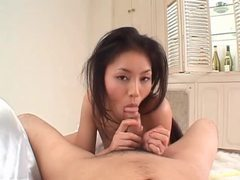 He cums thanks to her sexy blowjob movies at sgirls.net