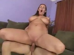 Voluptuous and shaved and riding cock hard movies at lingerie-mania.com