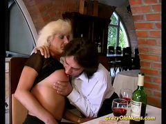 Crazy old mom hard fuck sex movies