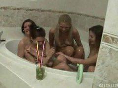 Hot czech lesbian orgy videos