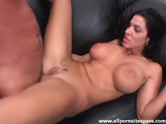His lean big titty milf takes hard cock videos