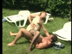 Chubby mature laid outdoors by stiff dick videos