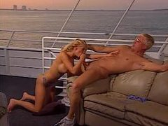Gorgeous blonde porn slut gives hot head outdoors movies at freekiloporn.com