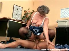 Granny gives up the pussy to younger man movies at freekiloporn.com