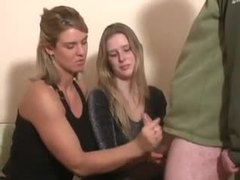 Handjob instruction for a young lady tubes