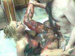 Food sex with a cute amateur blonde movies at kilopics.net
