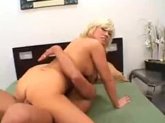 Golden haired milf with huge tits banged hard movies at sgirls.net