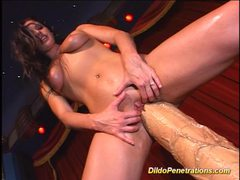 Hard action dildo penetrations videos