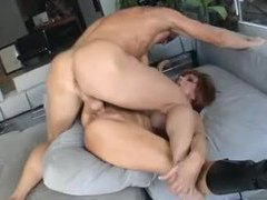 Leggy redhead milf gets her ass pumped hard videos