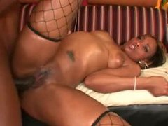 Big black dick inside hot ebony slut tubes