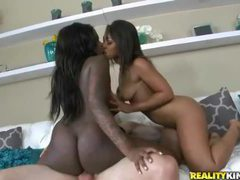 Banging two black hotties with his white cock movies at dailyadult.info