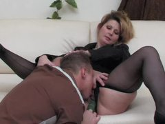 Black pantyhose girl fucked in the cunt videos