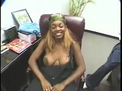 Black slut opens her legs and gets licked videos