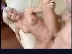 Blonde milf with perfect tits suck and fuck videos