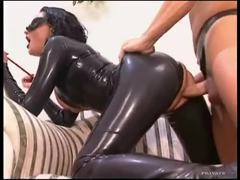 Full latex catsuit on slut taking dick movies at nastyadult.info