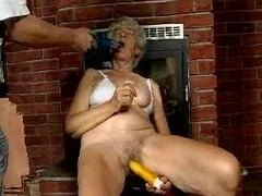 Hairy cunt granny masturbates with toys movies at find-best-ass.com