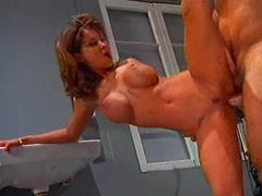 Redhead audrey hollander does incredible double fisting movies at lingerie-mania.com