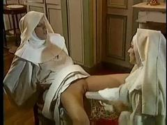 Kinky scene with nuns fisting fantastically clip