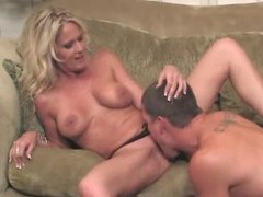 Blonde milf is sizzling hot and taking cock movies at sgirls.net