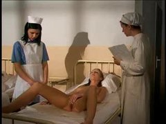 Nurse masturbates in front of her patient movies at freekilomovies.com