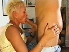 Making out with and getting bj from mature videos