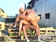 Diana doll does a 3some with dp outdoors movies at find-best-panties.com