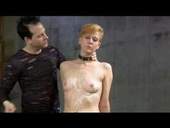 Saran wrapped whipped and toyed movies at adipics.com