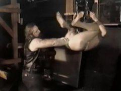 Vintage gay biker fisting videos