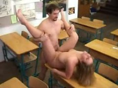 Curvy blonde fucked in classroom videos