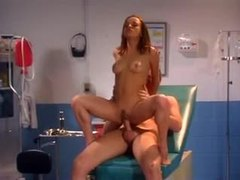 Gauge and her doctor have hot sex movies at freekiloclips.com
