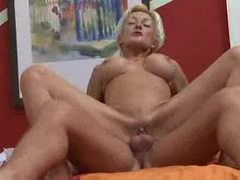 Horny fuckable mature gets on top videos