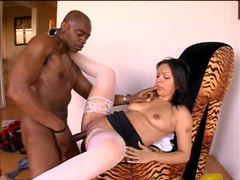 Latina and the black construction worker fuck videos