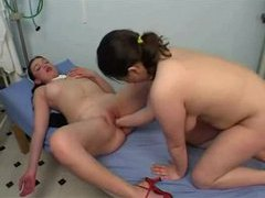 Nurse and patient lesbian fisting video videos