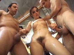 Sasha grey gangbang with bukkake movies at find-best-hardcore.com