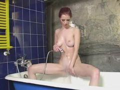 Redhead bikini striptease in bathtub movies at find-best-ass.com