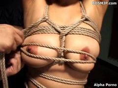 Extreme tied and bound slave bondage videos