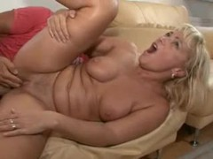 Seductive blonde mature nailed in box videos
