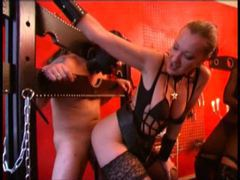 Mistress uses and abuses a guy for her pleasure videos