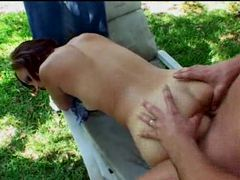 Outdoor sex with a redhead videos