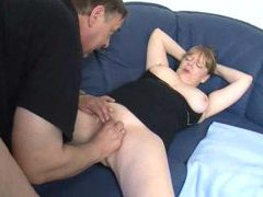 Old fat couple foreplay and fucking videos