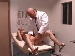 Doctor nails his young shaved patient videos