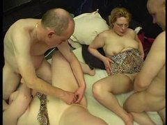 Foursome with two fat sluts movies at sgirls.net
