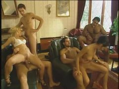 Orgy includes lots of double penetration sex videos