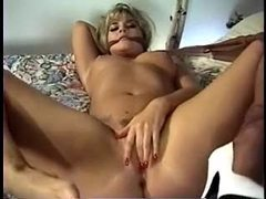 Blonde rips pantyhose to get to pussy movies at nastyadult.info